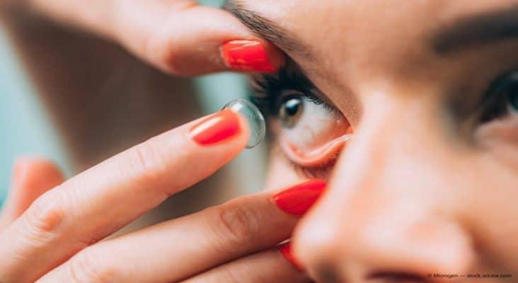 نگهداری لنز و بهداشت آن